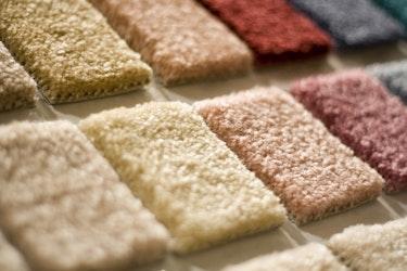 Muster von Premium-Teppichen für den Privatbereich