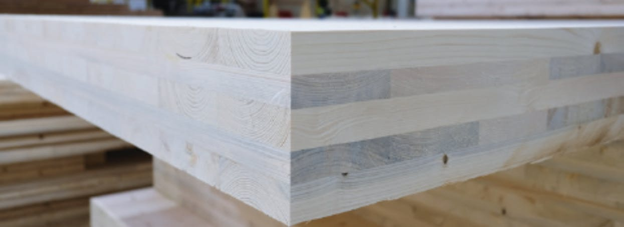 Jowat supplies Jowapur adhesives for glulam and cross-laminated timber