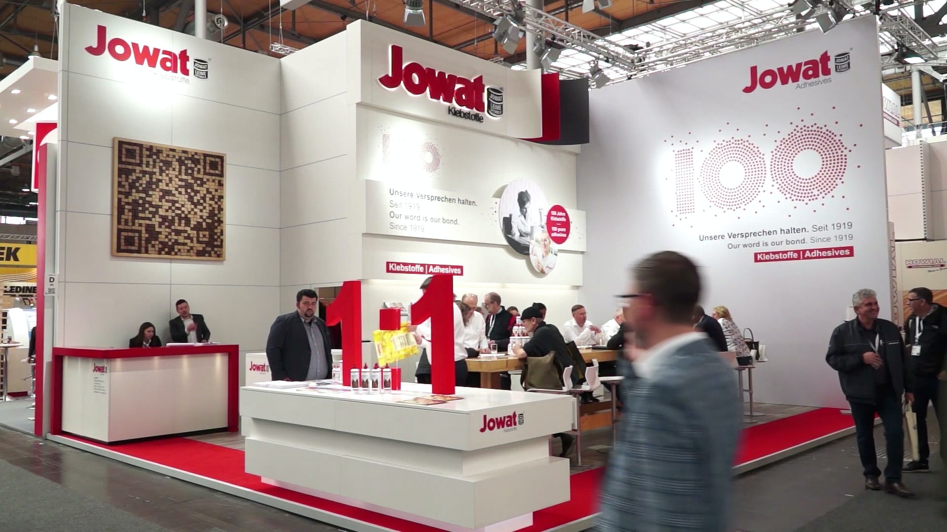 Jowat Ligna trade fair booth