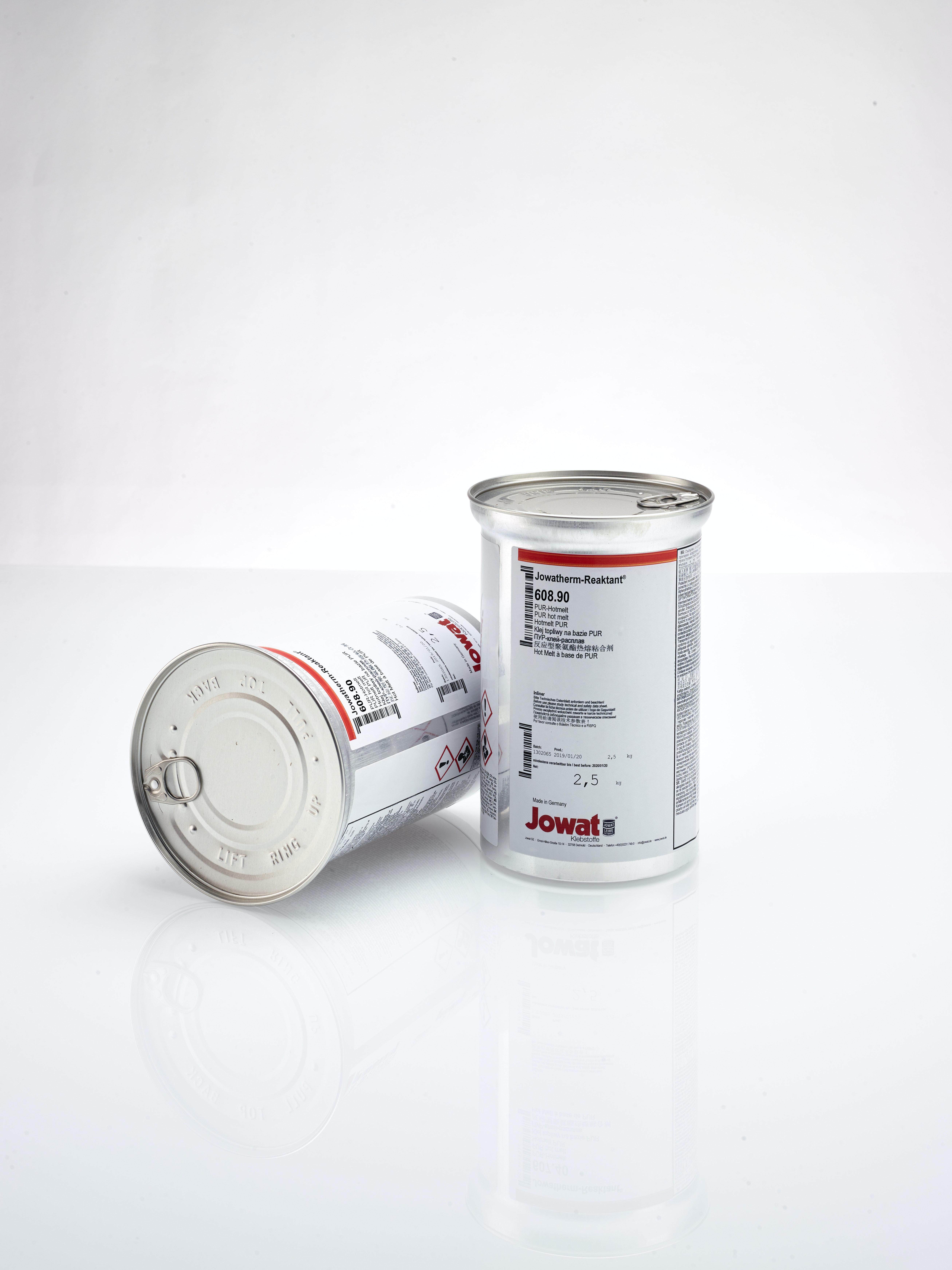 Reaktant Dosen Klebstoff